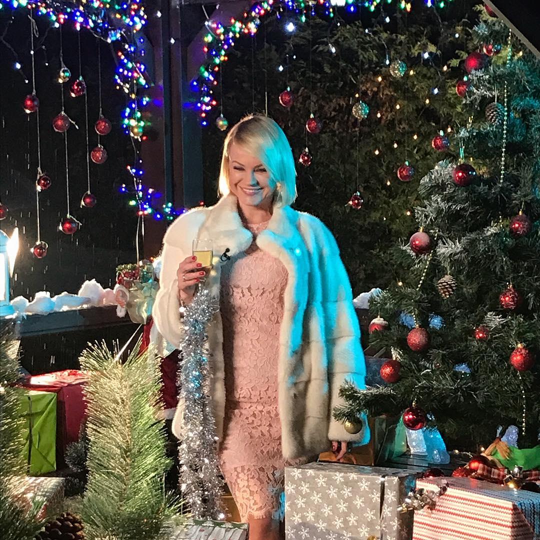Ирина Ортман поделилась прекрасной новогодней песней